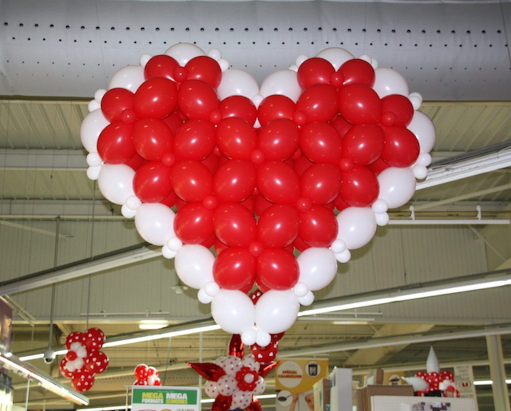 D corations ballon archives sa prod for Decoration porte st valentin