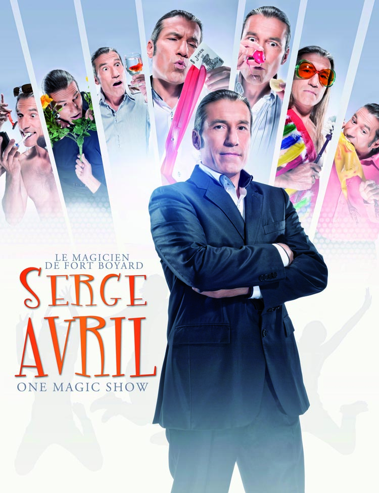 Spectacle de Serge AVRIL - Le Magicien de Fort Boyard