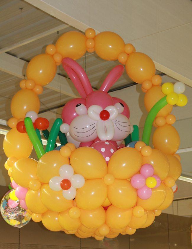 Décoration Ballon Pâques 2016