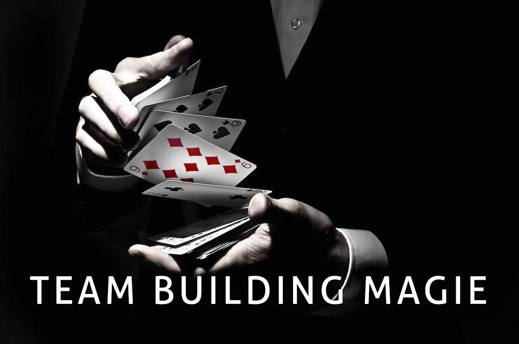 Teambuilding magie la rochelle agence séminaire et teambuilding avec magicien