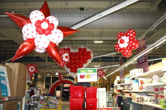 Saint Valentin ballon