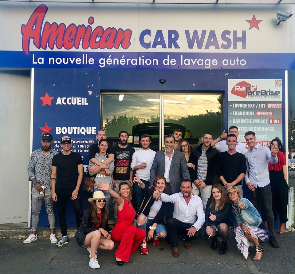 SA PROD fête les 10 ans d'American Car Wash