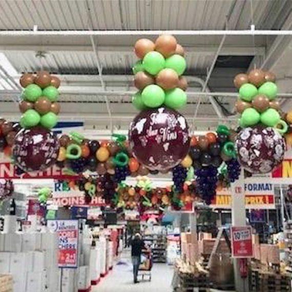 Décoration Ballon La Rochelle Foire AU Vins