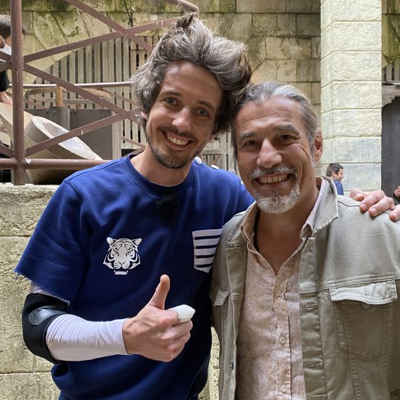 Guss l'illusioniste avec Serge AVRIL magicien de Fort Boyard